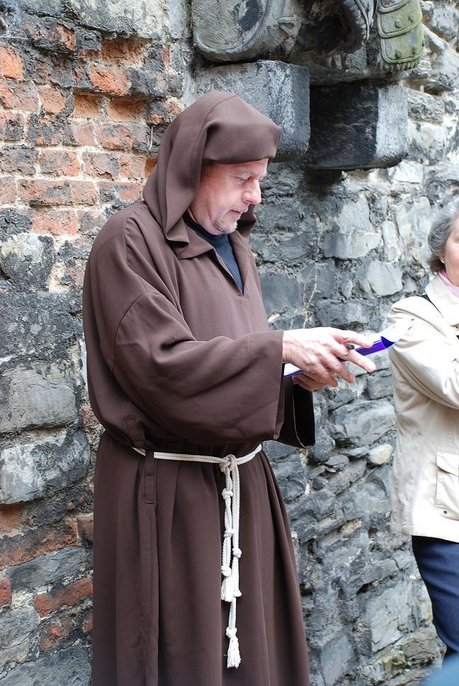Zoektocht in de Sint-Baafsabdij