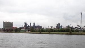 Fietstocht Haven Gent