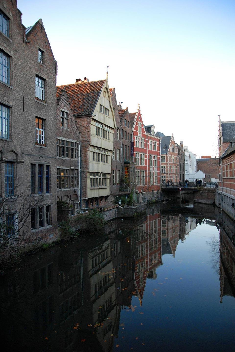 Fietstocht Gent Waterstad