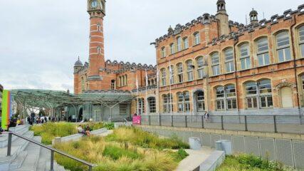 Rondleiding: Tussen park en station: vooroorlogse architectuur en art nouveau – 15/08/2021 om 10u00 (Start: Sint-Pietersstation aan de zijde van de Prinses Clementinalaan (Starbucks))