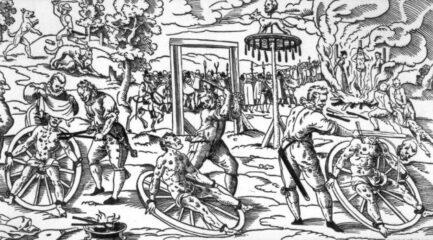 Rondleiding: Een bloedrode gidsbeurt langs schavotten, brandstapels, schandpalen en vroegere gevangenissen – 23/10/2021 om 14u00 (Start: Sint-Veerleplein voor de oude Vismijn)